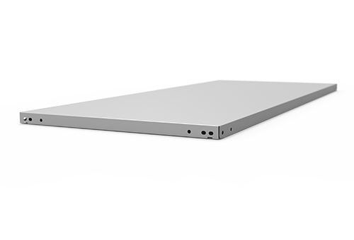 galvanized shelf for slotted angle