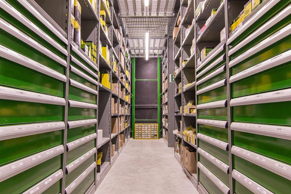 modular drawers in metal Interlok shelving dividers and separators all welded drawer for John Deer