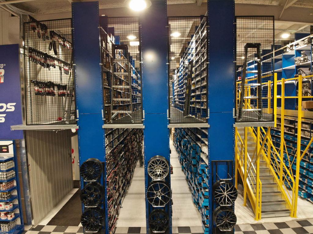 multi-tier-shelving-sutomotive-storage